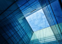 Glass for the building industry